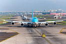 Korean Air Cargo B747-8F's first time departure from VABB is seen here...