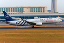 Kenya Airways B737-800, 5Y-CYE in SkyTeam livery.