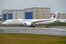 China Eastern's latest 787-9 coming back from the paint hangar after g...