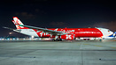 First flight of Indonesia AirAsia X to VABB operating Bali-KUL-Mumbai ...