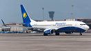 Inbound from Kigali as WB500, the first ever flight for RwandAir to Mu...