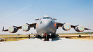 IAF's GlobeMaster on display on the ramp at Hindon AFB on the occasion...