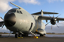 First A400M for the Belgian Air Force.