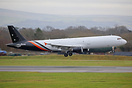 Former Thomas Cook aircraft now converted for cargo operations. This a...