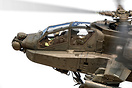 A good look at the pilot and WSO of the Dutch Boeing AH-64D Apache