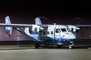 Nightstop on delivery flight for Kenya Air Force
