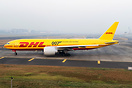 DHL 77F sporting the 007 sticker