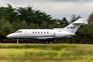 Westair Aviation Hawker 800XP accelerating down runway 06 at Shannon.