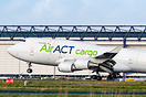 ACT Airlines B747-400F derotating following arrival from Istanbul enro...