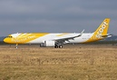 First A321 Neo D-AVZV / 9V-NCA for Scoot Airways at XFW Hamburg-Finken...