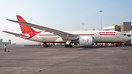 Air India's inaugural flight to Frankfurt all ready and set for pushba...
