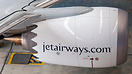 Factory fresh CFM Leap-1B shining bright and sharp. Jet Airways B737-M...