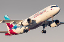 Eurowings recently applied decals to one of its A320 aircraft to thank...