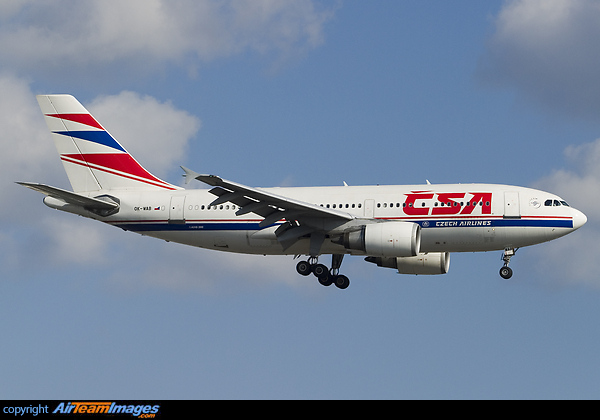 ok wab czech airlines csa airbus a310 304 photo by ronny