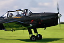 One of two Chipmunks still in service with the RAF - with the Battle o...