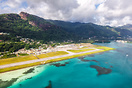Mahe airport overview
