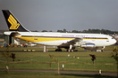 Airbus A300B4-203 F-WZER is pictured in Singapore Airlines colours at ...