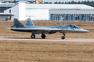First serial produced Su-57. The Russian military is expected to recei...