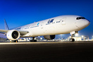 This is the worlds first Boeing 777 to be converted from pax version ...