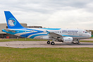 First A319 for Aero Mongolia caught after coming out of Airbourne Colo...