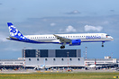 "Belavia's second Embraer E-2 painted in ""25th Anniversary"" special col..."