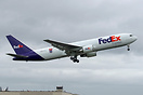 Fedex 100th 767 freighter, having the special milestone decal livery