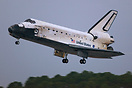Welcome back Discovery! CDR Mark Polansky and PLT William Oefelein bri...