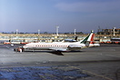 Leased from Alitalia for use on charters. It was delivered in 1964, an...