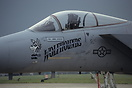 "F-15A Eagle from the 32 TFS ""Wolfhounds"""