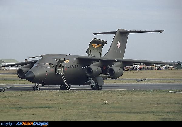 Bae 146 military demonstrator aircraft ...