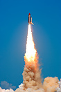 "Discovery was launched with the impressive ""rocket's red glare"" celebr..."