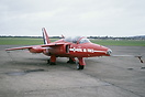 Gnat T1 of the Red Arrows