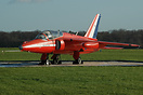 Preserved by the control tower at Kemble to commemorate the Red Arrows...