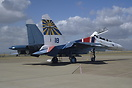 The 'Russian Knights' aerobatic team making their first ever overseas ...