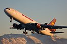 Taking off from runway 32 at Anchorage. As the weather forecast predic...