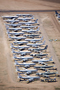 Aerial Photograph of Davis Monthan AFB - Various C-135 Varients