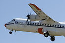 The french aviation agency DGAC displaying its ATR42 (ILS calibration ...