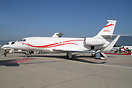 Falcon 2000LR: Upgraded version of the 2000, equipped with winglets.