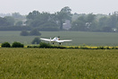Just about to make an emergency landing in a field after engine failur...