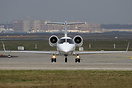 Head on while lining up on 18W