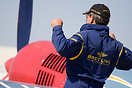 Pierre Marmy practising his routine. World Unlimited Aerobatic Champio...