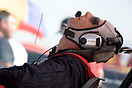 Stretching the neck muscles. World Unlimited Aerobatic Championships 2...