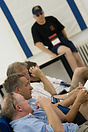 British Team members at one of the briefings. World Unlimited Aerobati...