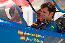 Juan Velarde getting ready to fly. World Unlimited Aerobatic Champions...