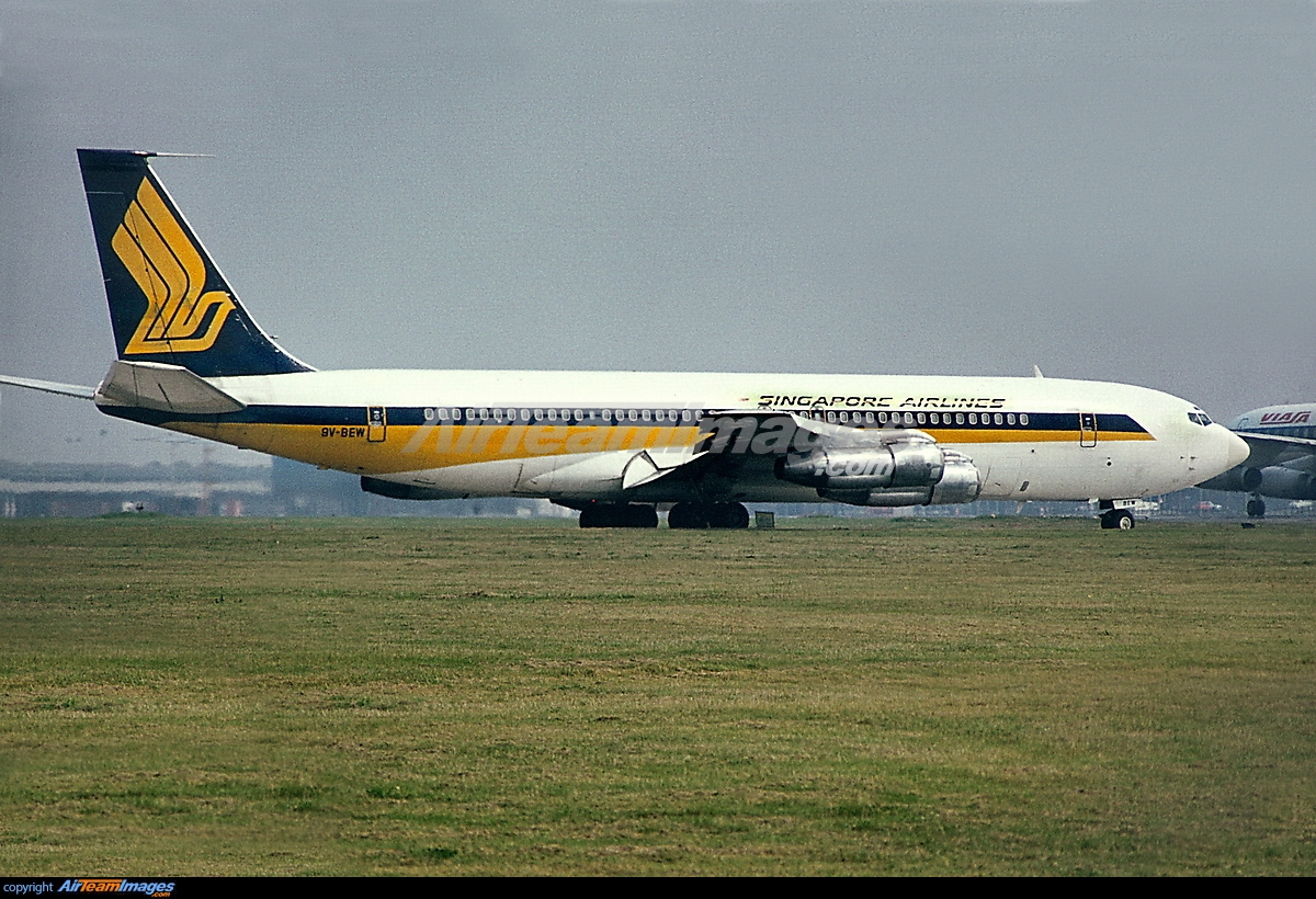 boeing 707 Although the boeing 707 is known worldwide as the machine which took civil aviation from the piston engine era into that of the jet engine, what is very often not.