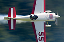 Race winner Paul Bonhomme. Red Bull Air Race World Series - Interlaken...