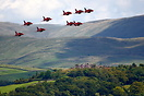 Locals pack the local hills for Windermere Airshow 2007