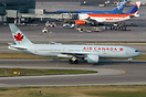 First Boeing 777-200LR for Air Canada. Recently delivered, used on no-...