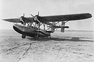 The Sikorsky S-38 twin-engined 5-seat amphibious aircraft of Pan Ameri...