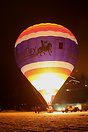 Chateau D'Oex balloon festival 2008 nightglow